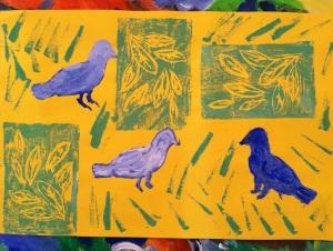Dogwood Bird Print 2013 Show
