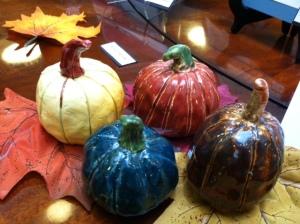 DV 2014 Ceramic Pumpkins